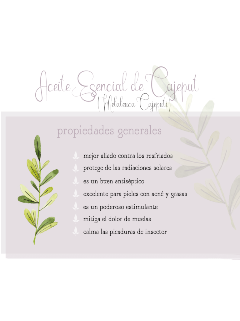 by naturals aromaterapia aceite esencial cajeput remedios naturales
