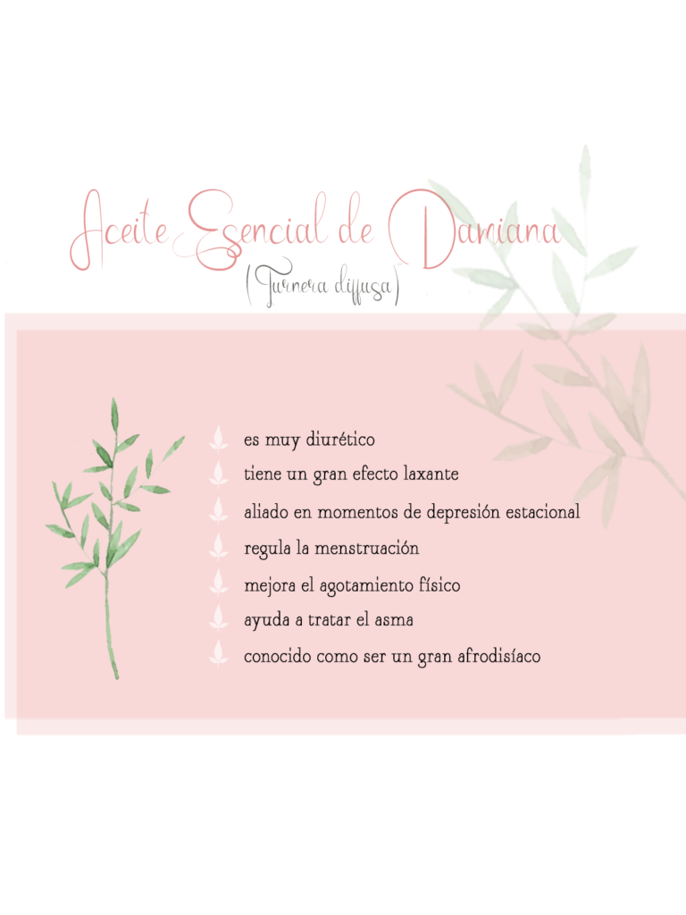 by naturals aromaterapia aceite esencial damiana remedios naturales