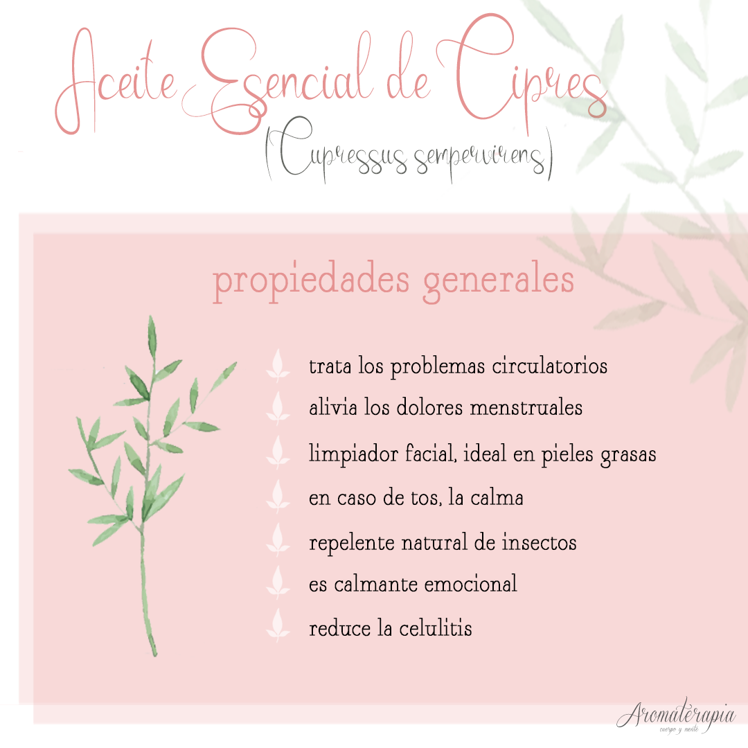 aromaterapia by naturals aceite esencial cipres remedios naturales
