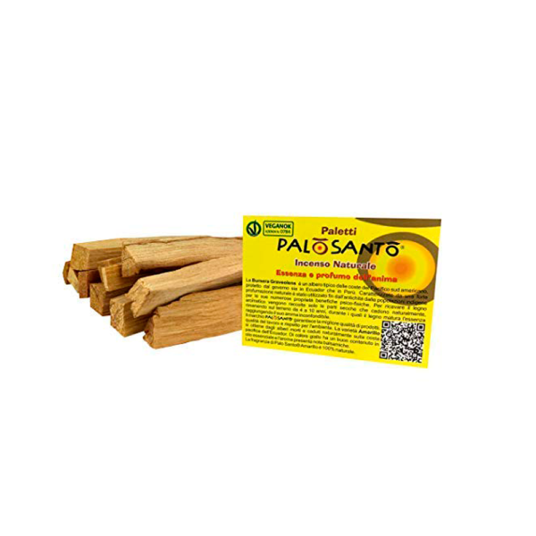 incienso natural palo santo esencia