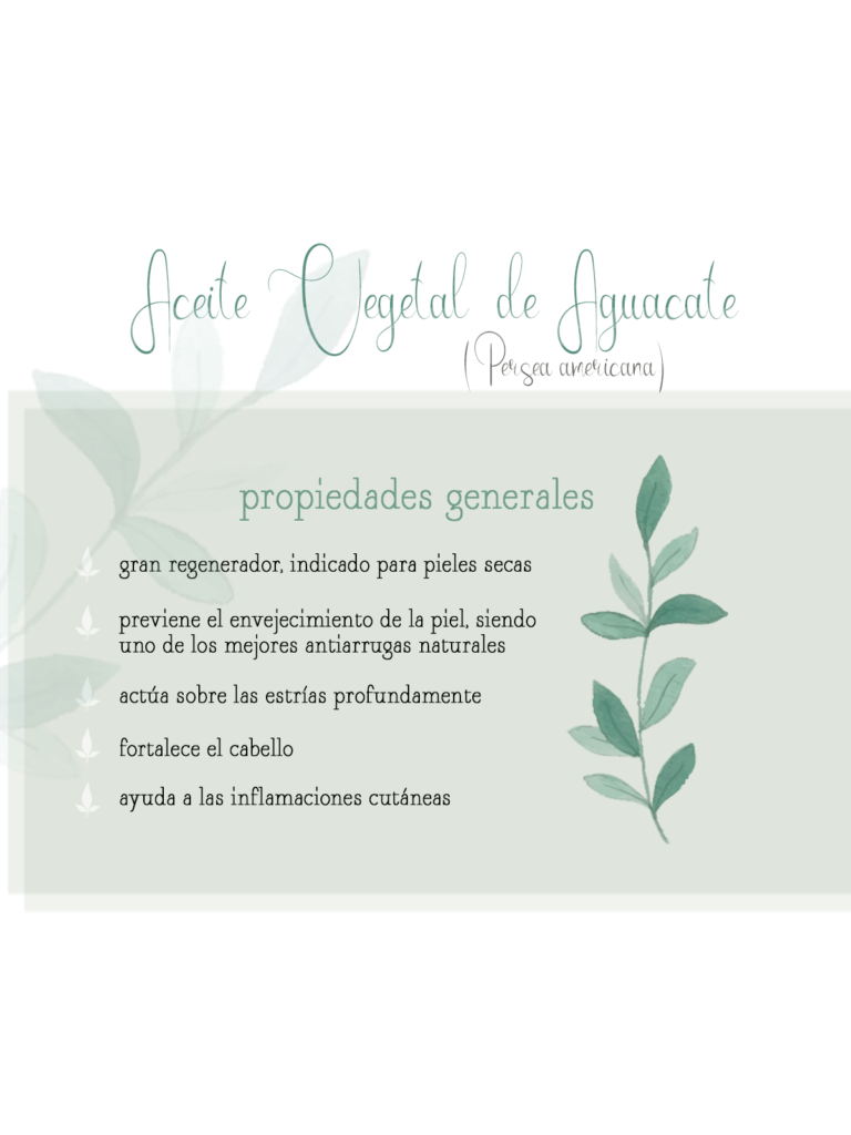 aceite vegetal aguacate aromaterapia aceites vegetales by naturals